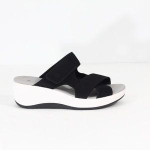 Clarks Cloudsteppers Sandals NEW Women 11 Platform